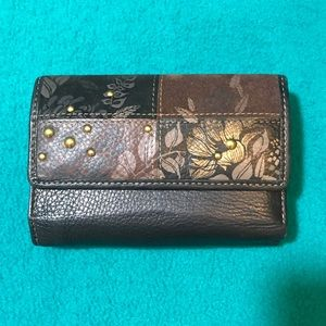 Fossil Tri-fold Wallet w Separate ID & Card Holder